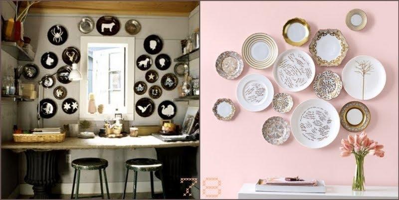 Decorative ceramic wall plates 3 & Decorative Ceramic Plates - Foter