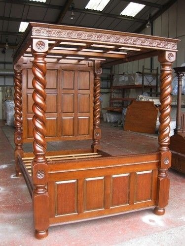 Four poster bed tudor style 4 poster bed super king & King Size Four Poster Bed - Foter