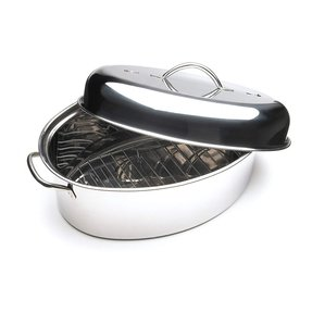 Stainless Steel Roasting Pan With Lid Foter