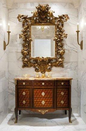 Gold Bath Accessories Foter - Antique gold bathroom hardware