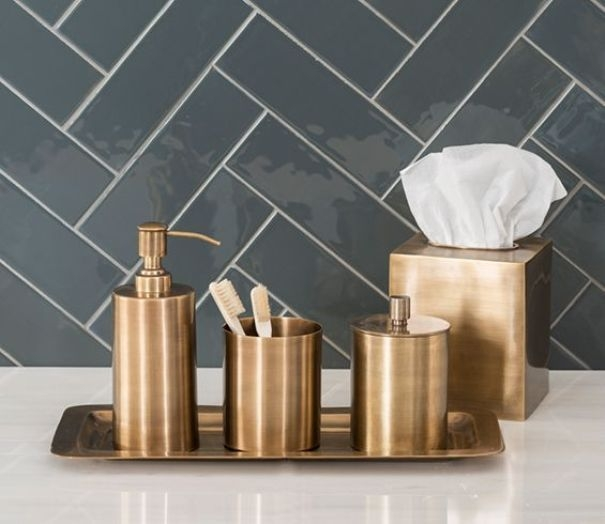 Genial Gold Bath Accessories   Ideas On Foter