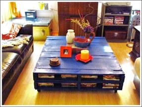 Hope chest coffee table
