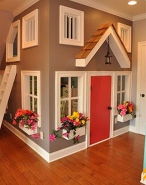 Indoor playhouse for kids