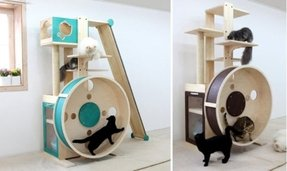 Instructables cat tree
