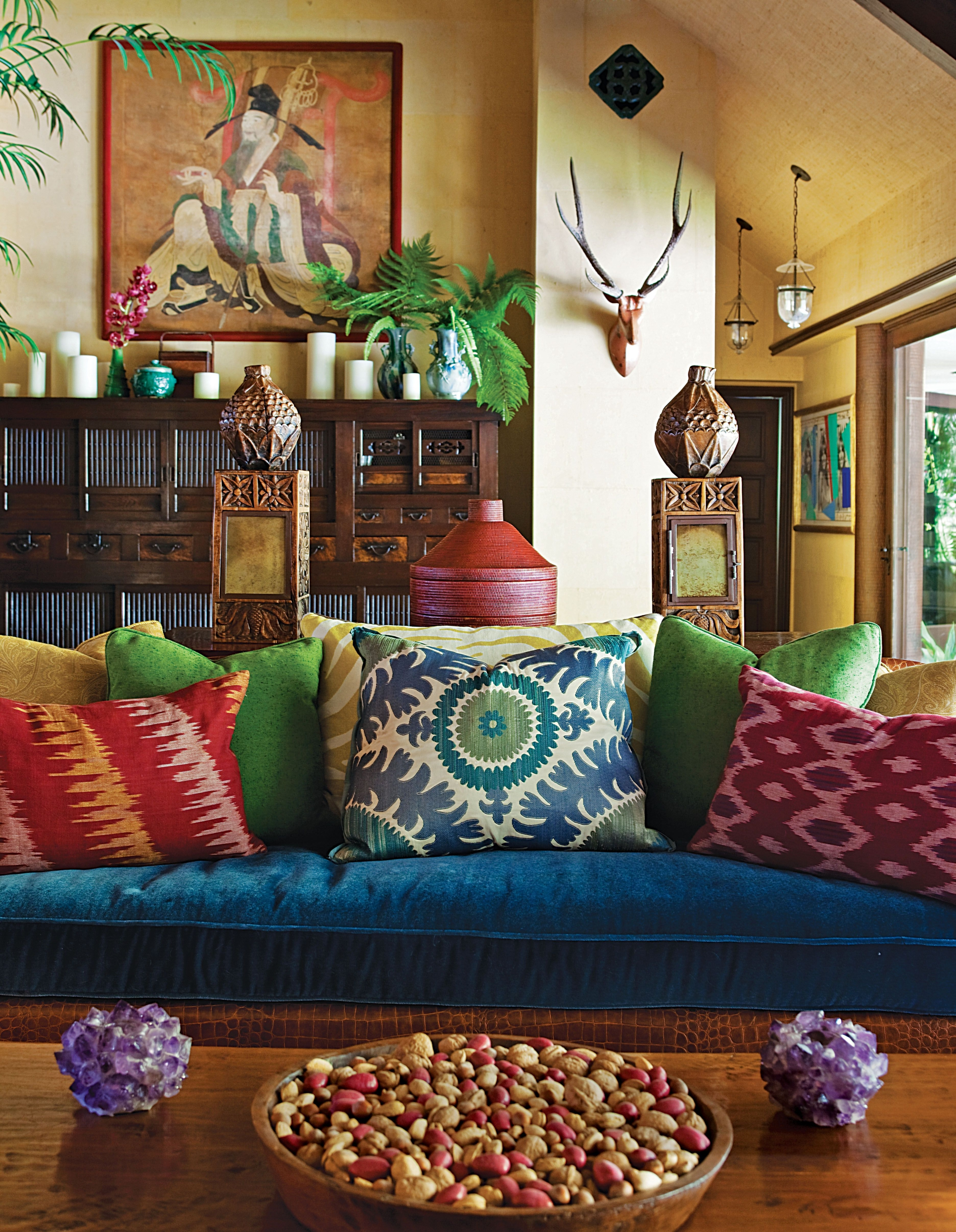 Jewel Tone Pillows 5