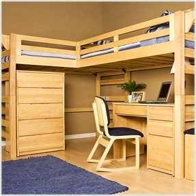 L Shape Loft Bed - Ideas on Foter