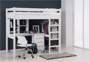 Student Loft Bed With Desk Foter