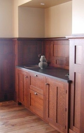 Maple pantry cabinet 2