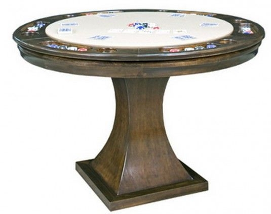 Metropolitan Reversible Poker Table By California House Proudly Custom Built