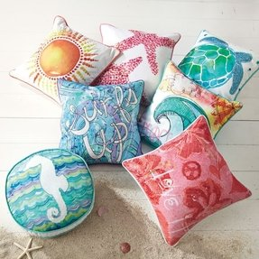 Nautical pillow covers 7