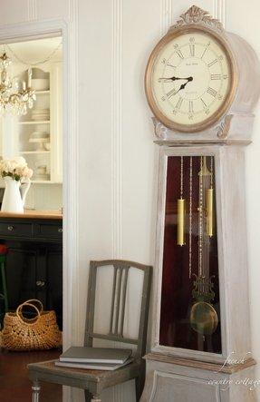 White Grandfather Clock Foter