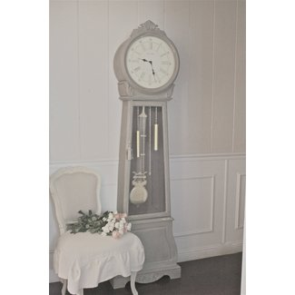 Painting a grandfather clock