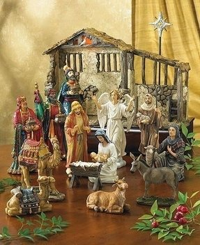 Porcelain nativity scene 2