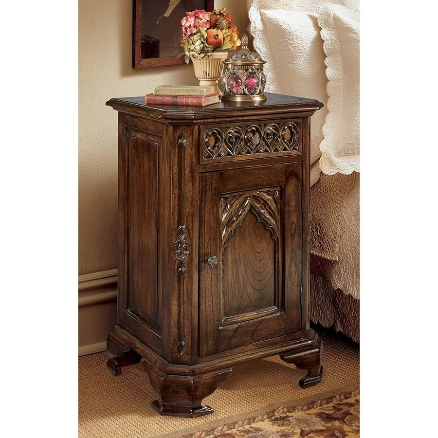 Queensbury Inn Gothic Revival 1 Drawer Nightstand