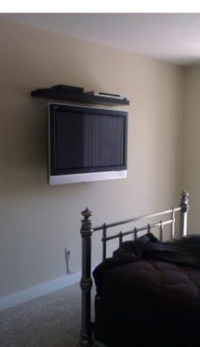 Dvd Shelf Wall Mount Foter
