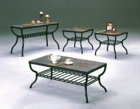 Slate Coffee Table Set - Foter