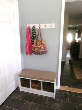 Small Hall Tree Bench 1