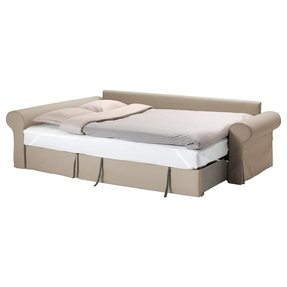 Sofa bed with storage chaise