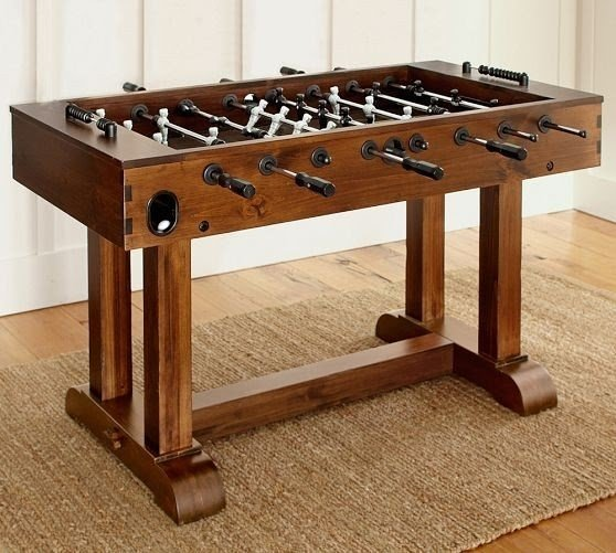 Solid Wood Foosball Table