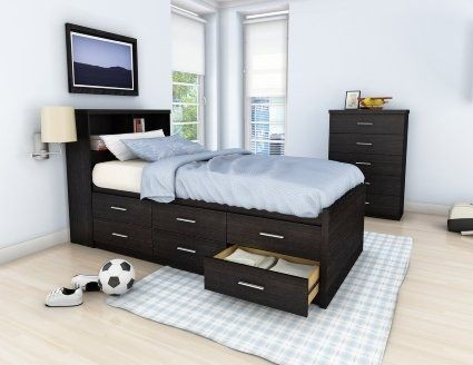 Sonax Willow Single Captains Storage Bed With 6 Drawers