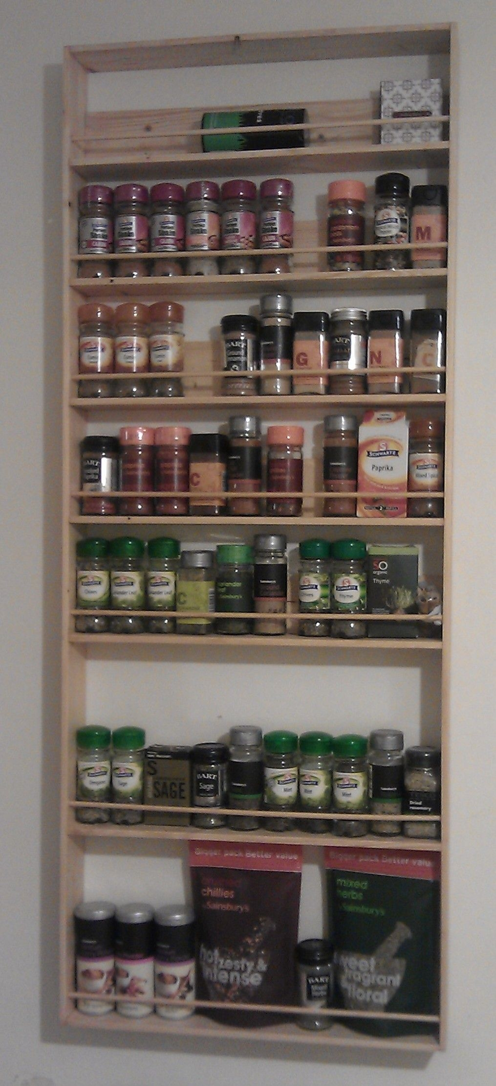 Superior Spice Cabinet Wall Mount