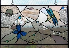 Stained glass panels for sale 5