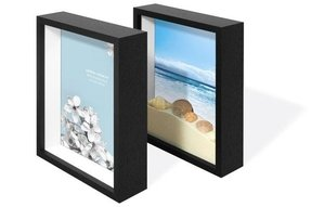 Swing Design Chroma Shadow Box Frame, 8 by 10-Inch, Charcoal