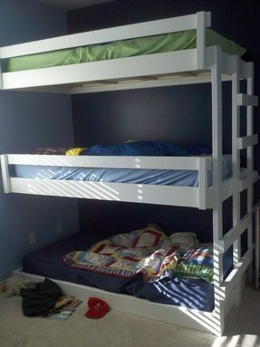 T shaped bunk beds 1