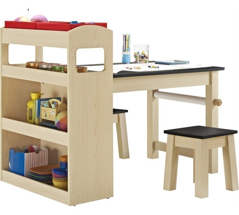 Marvelous The Kids Activity Table With Storage Gives You Children Space