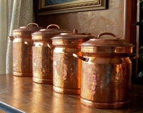 copper canister set kitchen copper canister sets foter 16850