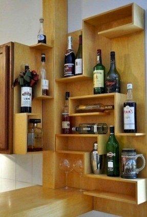 Corner Mini Bar - Foter