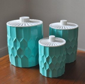 Teal Kitchen Canisters Foter