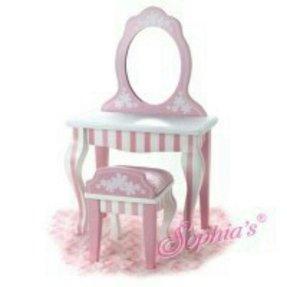 vanity set for girls. Vanity Sets For Girls Girls Wooden Set  Foter