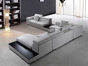 Modern Microfiber Sectional Sofa Ideas On Foter