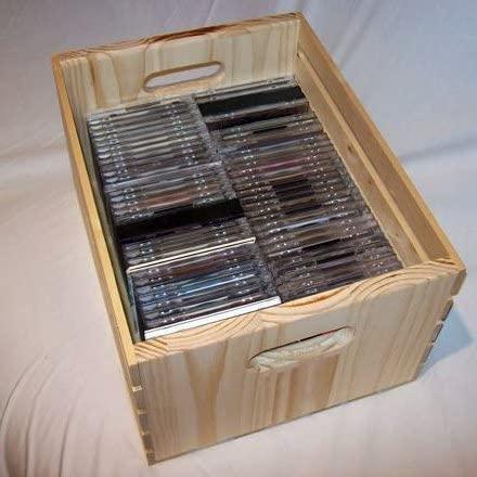 Merveilleux Wood Cd Storage 1