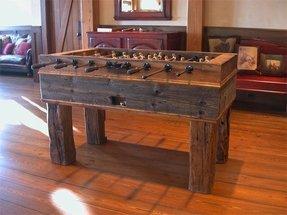 Solid Wood Foosball Table Foter