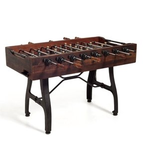 Wood foosball table