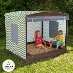 Wooden Sandbox With Cover Foter