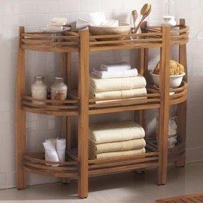 3 Tier Wooden Bathroom Caddy