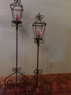 Iron Floor Candle Holders Ideas On Foter