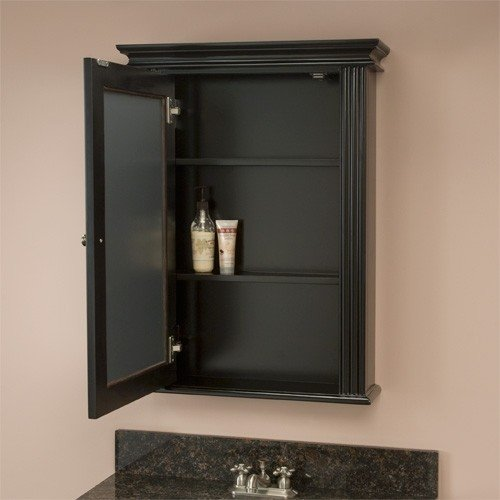 Wonderful Black Recessed Medicine Cabinet 3
