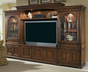 Brookhaven Home Entertainment Center with 65 inch Console