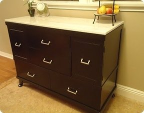 Buffet with marble top 7