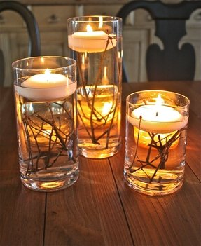 Candle holders set of 3 5