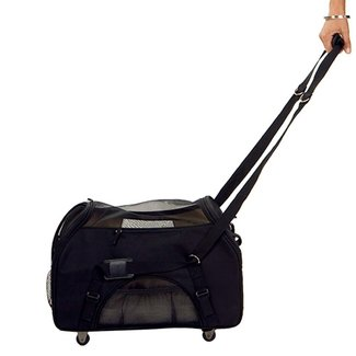 Cat carriers with wheels 2