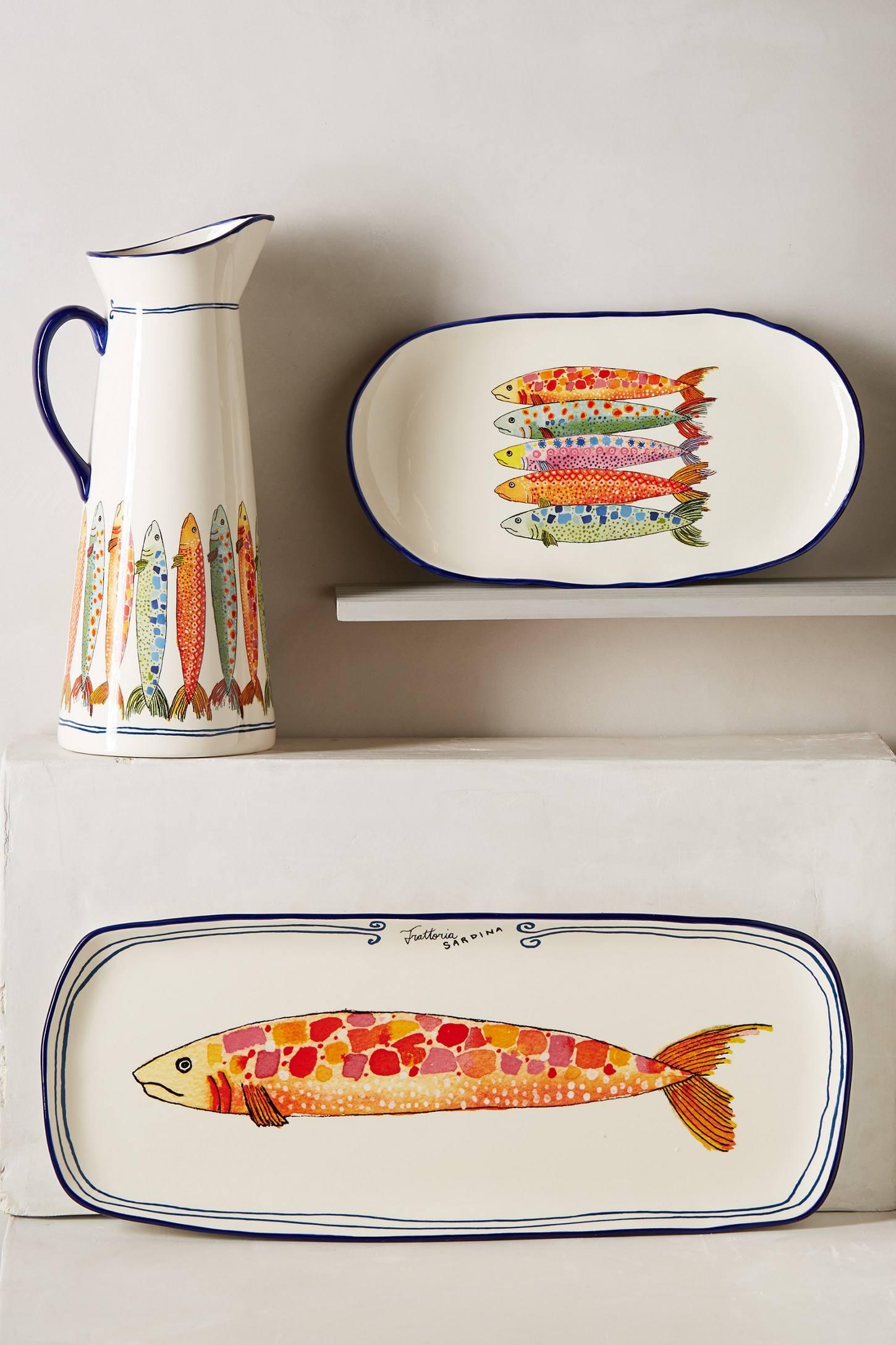 Ceramic fish plates 1  sc 1 st  Foter & Ceramic Fish Plates - Foter
