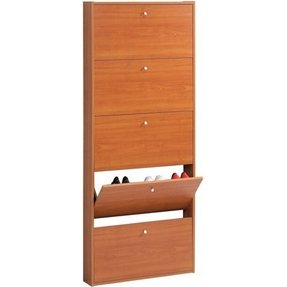 Cherry shoe cabinet 4