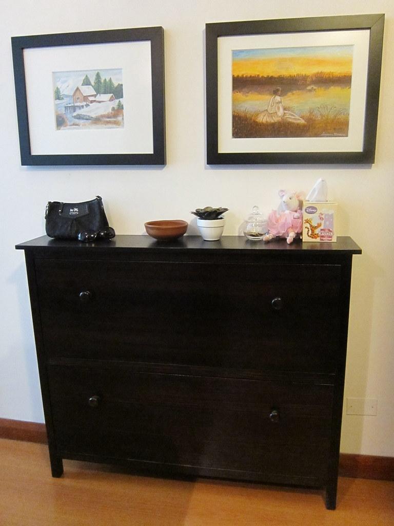 Cherry Shoe Cabinet 9