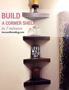 Corner Shelves For Bedroom