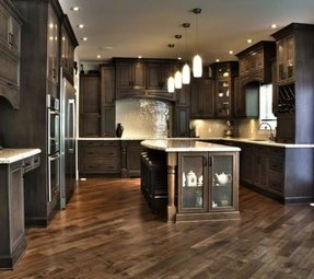 Dark Wood Kitchen Island - Ideas on Foter